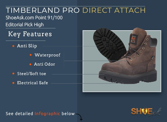 810df6bb89 Timberland Pro Direct Attach Boots: Myths Demystified – ShoeAsk