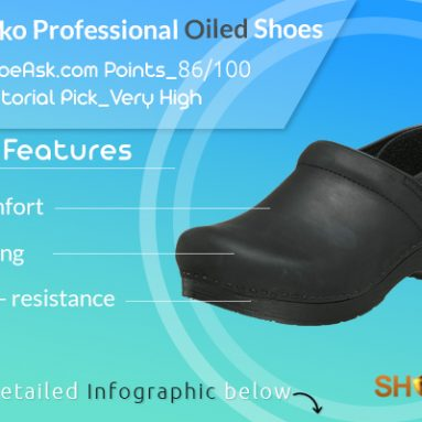 Dansko Professional Oiled (women's and men's) Shoes Review