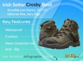 Irish Setter Work Crosby Boot